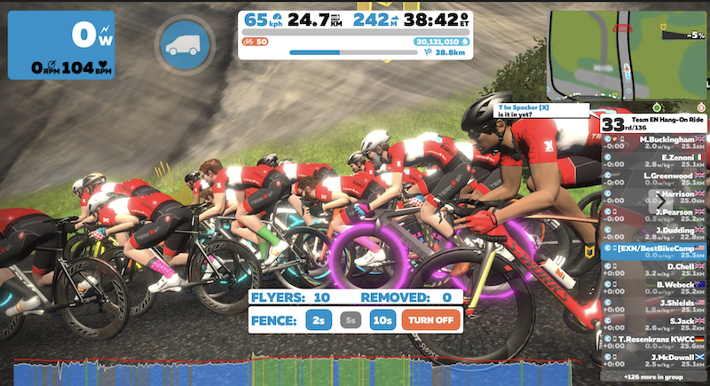 Group Rides on Zwift